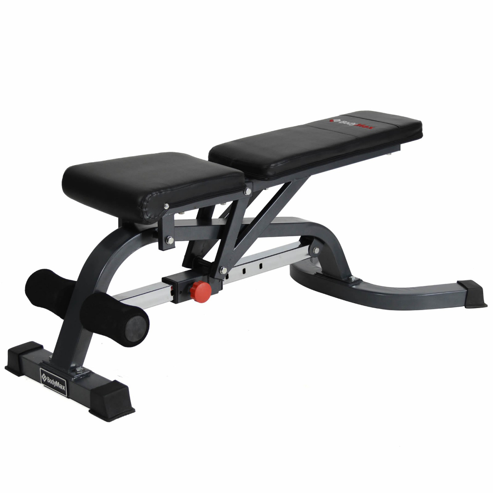 Bodymax Cf328 Deluxe Flat Incline Decline Weight Bench For Sale