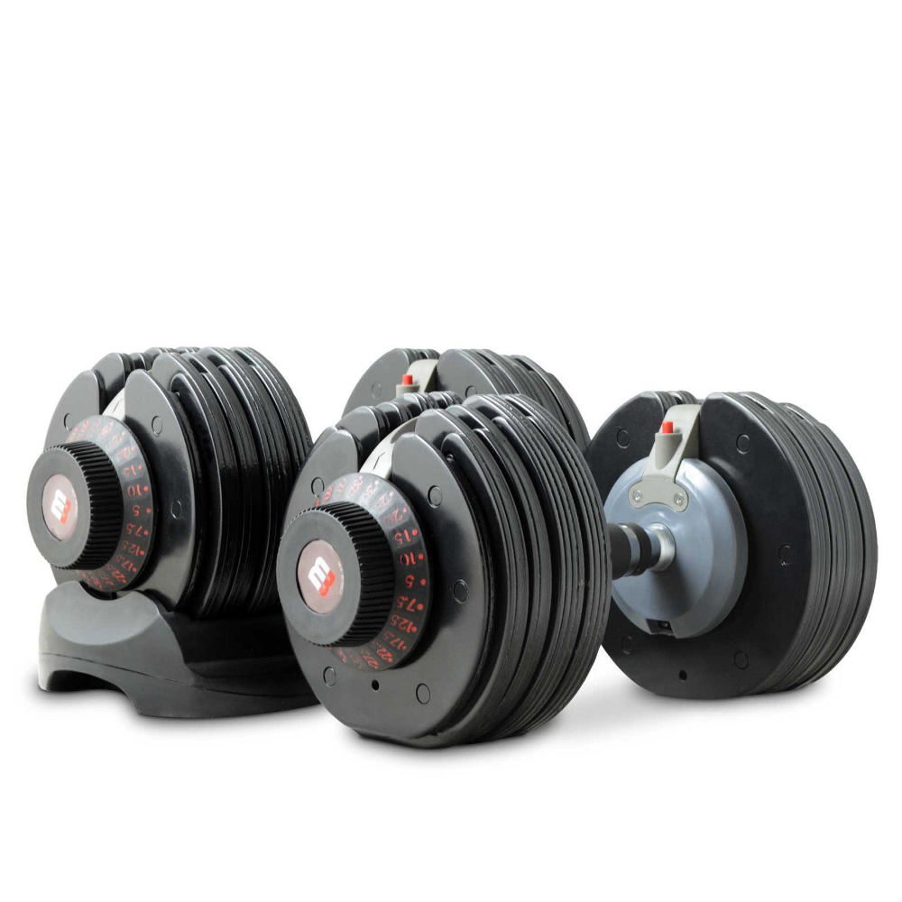 BODYMAX SELECTABELL DUMBBELL PAIR 5KG - 32.5KG
