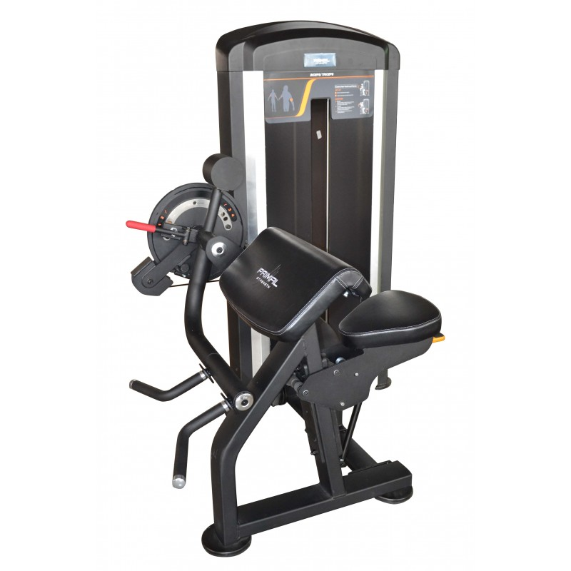 Primal Strength Rebel Elite Fitness: PRIMAL STRENGTH DUAL BICEP / TRICEP SELECTORISED MACHINE